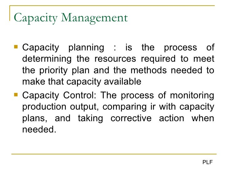 ITIL® Capacity Management