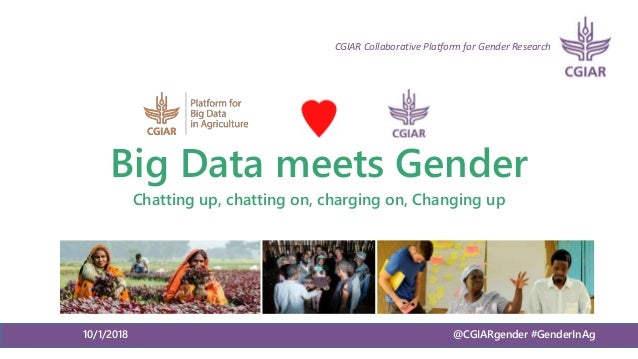 Big Data meets Gender