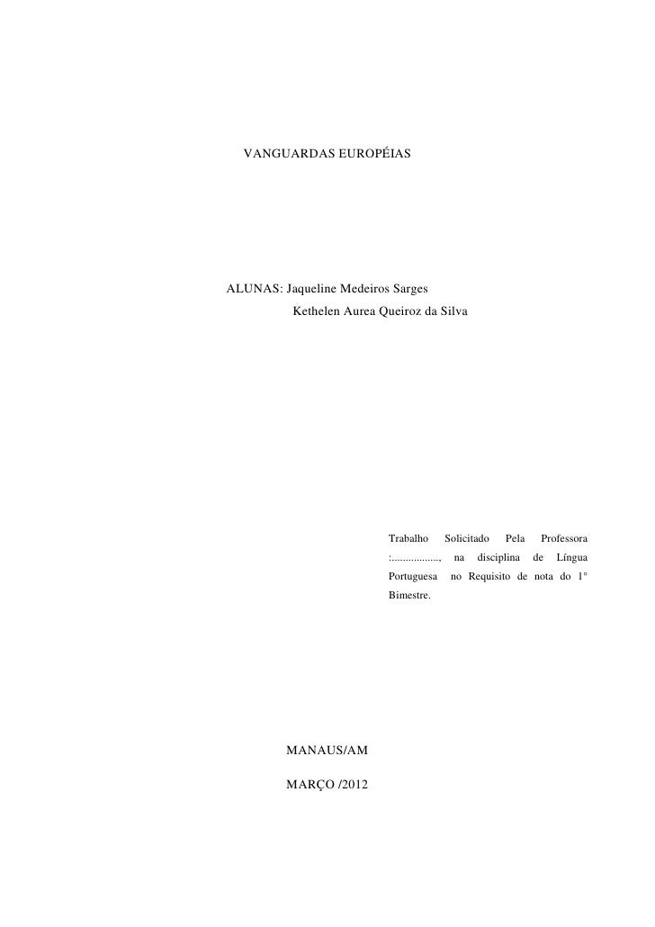 Modelo de um relatorio academico