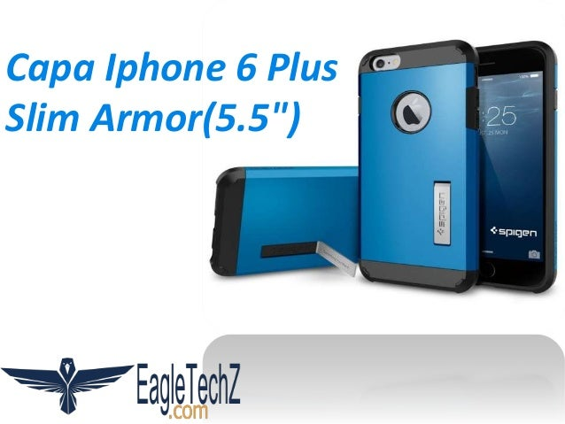"Capa Iphone 6 Plus Slim Armor(5.5"")"