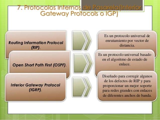 9. Protocolos de EnrutamientoPodemos distinguir dos tipos de Enrutamientos:Intradominio: Para el Enrutamiento dentro de ca...