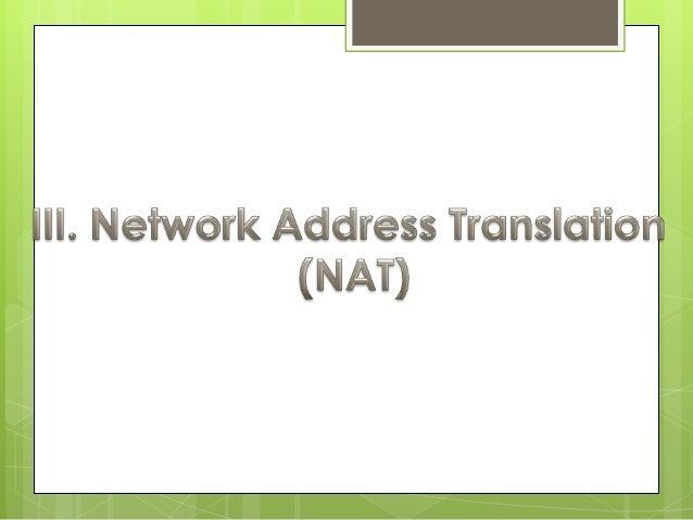 Port Address Translation (PAT) es una            característica del estándar NAT, que         traduce conexiones TCP y UDP...