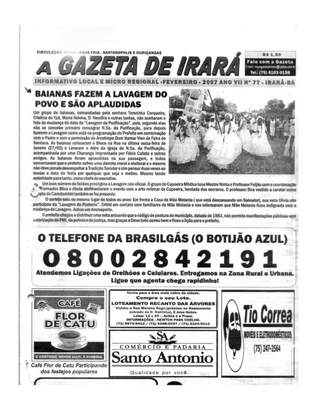 Capa gazeta   fevereiro 2007