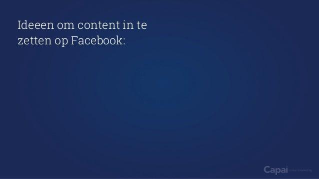 Facebook Marketing - Capai Contentmarketing Slide 3