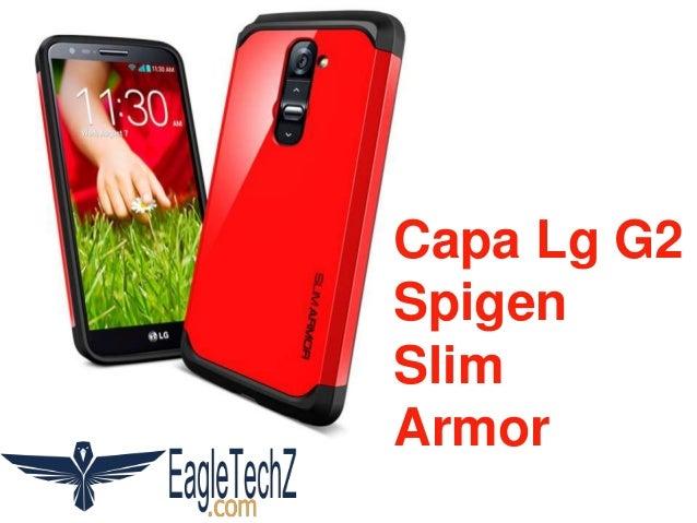 Capa Lg G2 Spigen Slim Armor