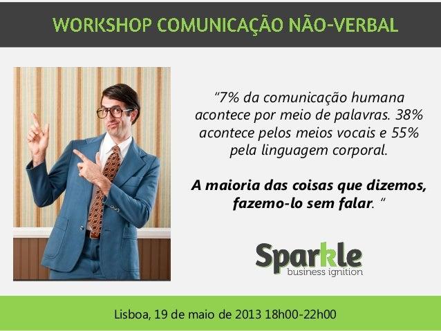 """""""7% da comunicação humana acontece por meio de palavras. 38% acontece pelos meios vocais e 55% pela linguagem corporal. A ..."""