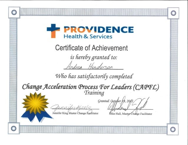 cap certificate slideshare upcoming