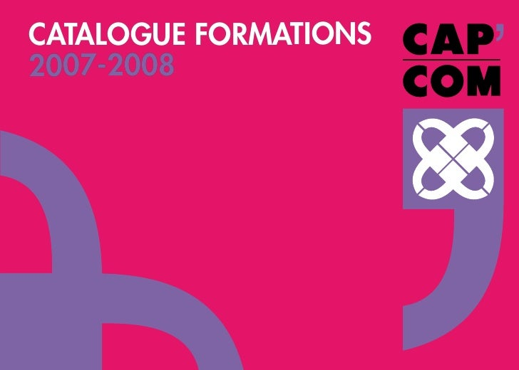 CATALOGUE FORMATIONS 2007-2008