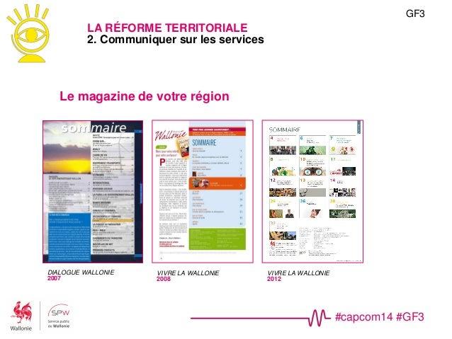 #capcom14 #GF3 GF3 LA RÉFORME TERRITORIALE 2. Communiquer sur les services Tendances • Brandings • YouTube https://www.you...