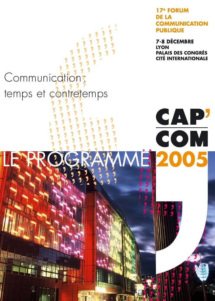 Communication : temps et contretemps                            1