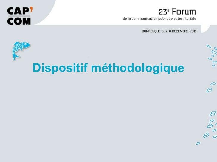 Cap com2011 métier de communicant public1 Slide 3