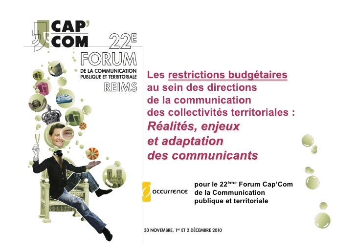 AT7 - Les restrictions budgétaires au sein des directions de la communication des collectivités territoriales