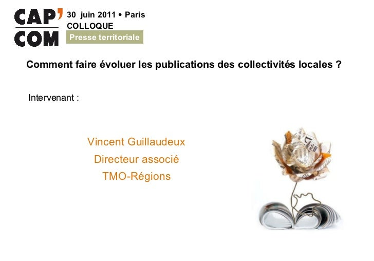 Vincent Guillaudeux Directeur associé TMO-Régions