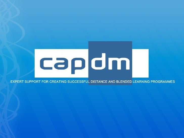 Concept guidance: The CAPDM Model                                    2