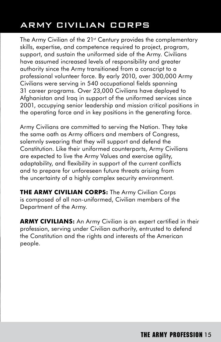 essay on army value respect Sample of army values and its violations essay (you can also order custom written army values and its violations essay.