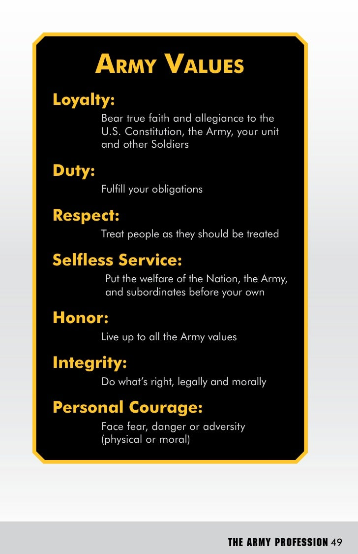 army essays army values Essay on army values - best academic writing and editing assistance - get professional help with secure essay papers for cheap professional homework writing company - order quality essays, term papers, reports and theses quick online academic writing assistance - we provide professional essays, term papers.
