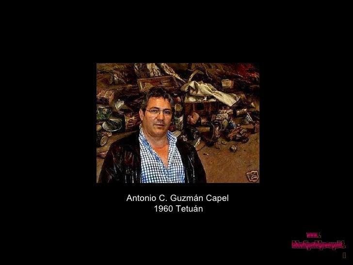 Antonio C. Guzmán Capel  1960 Tetuán