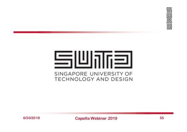 6/30/2019 Capella Webinar 2019 55