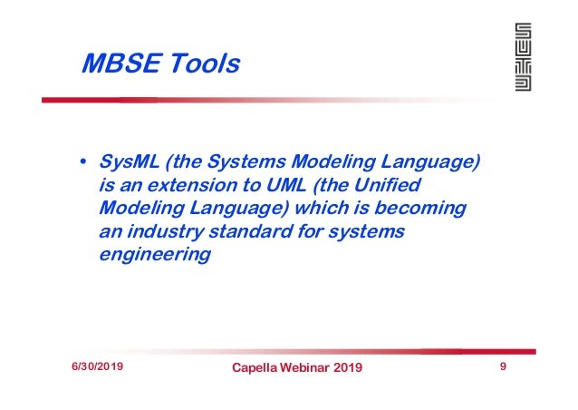 MBSE Tools • SysML (the Systems Modeling Language) is an extension to UML (the Unified Modeling Language) which is becomin...