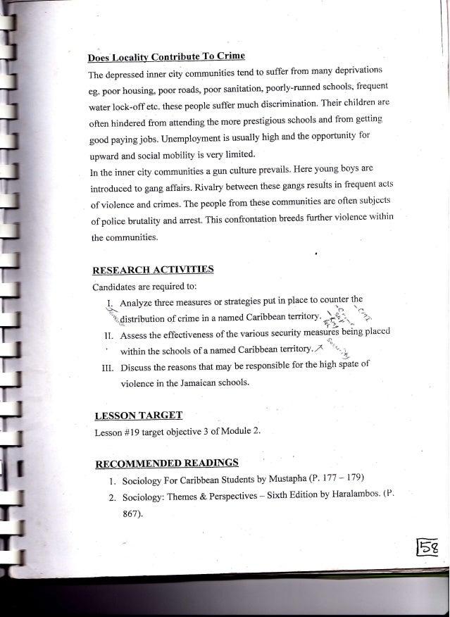 cape sociology unit 2 study guide rh slideshare net Social Studies Unit 2 Study Guide Math Unit 2 Study Guide