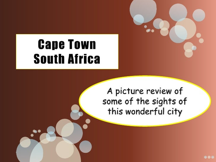 Cape Town – Waterfront shopping area