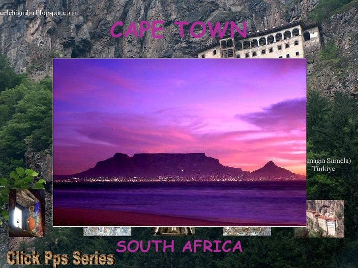 CAPE TOWN SOUTH AFRICA Click Pps Series