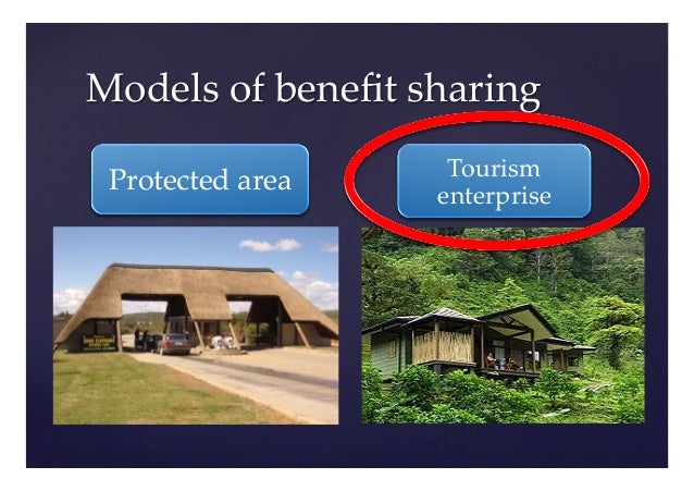 tourism revenue sharing trs benefits Sustain the park as well as benefit local residents economically, socially   medium local enterprises 5% tourism revenue sharing tourism infrastructure   funded by the 5% trs such as schools, health facilities, tourism.