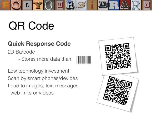 Periodic Table of QR codes https://www.flickr.com/photos/periodicvideos/5915143448/