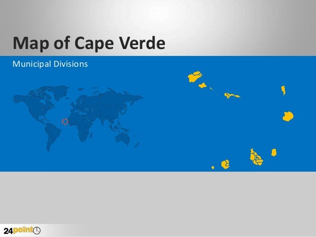 Map of Cape Verde Municipal Divisions