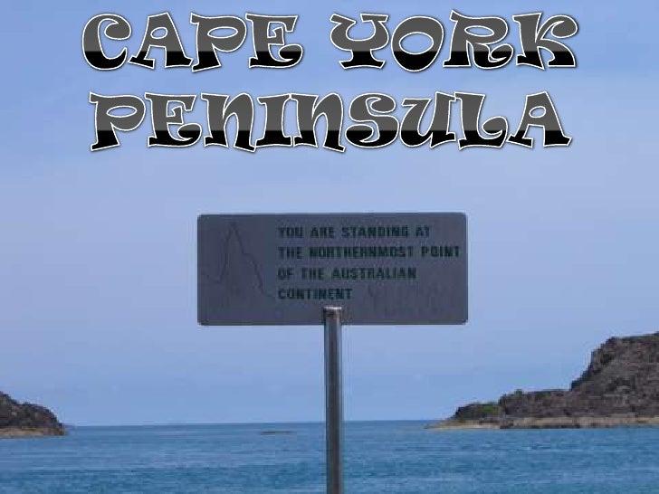 CAPE YORK<br />PENINSULA<br />