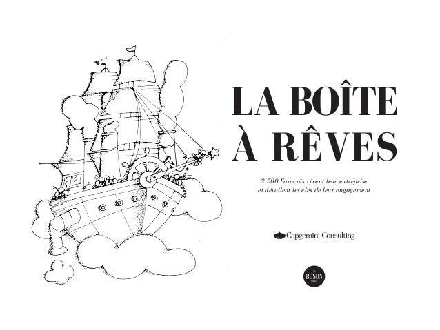 LA BOÎTE À RÊVES 2 500 Français rêvent leur entreprise et dévoilent les clés de leur engagement