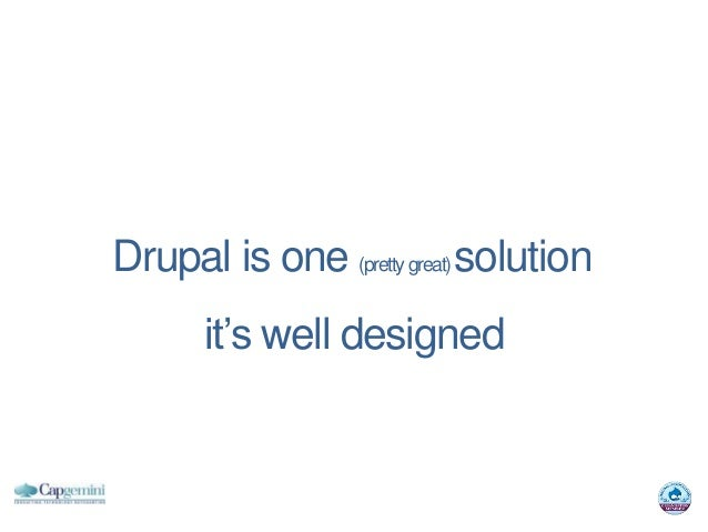 Drupal is one (pretty great) solution       it's well designed