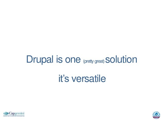 Drupal is one (pretty great) solution          it's versatile