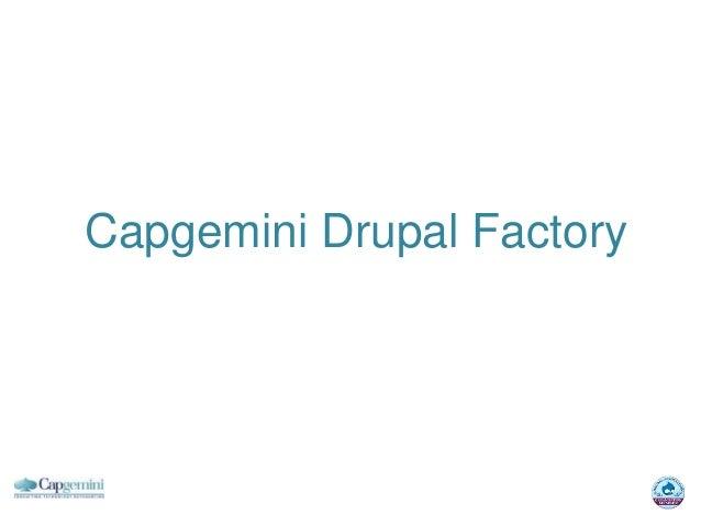 Capgemini Drupal Factory