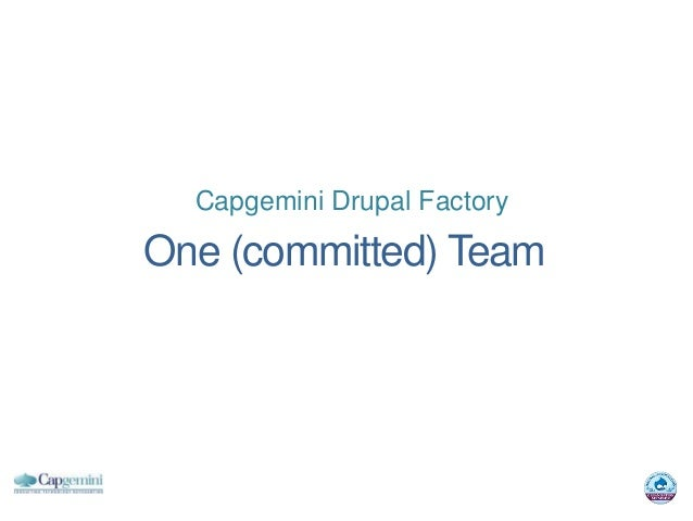 Capgemini Drupal FactoryOne (committed) Team