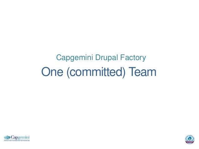Capgemini Drupal FactoryOne (committed) Team