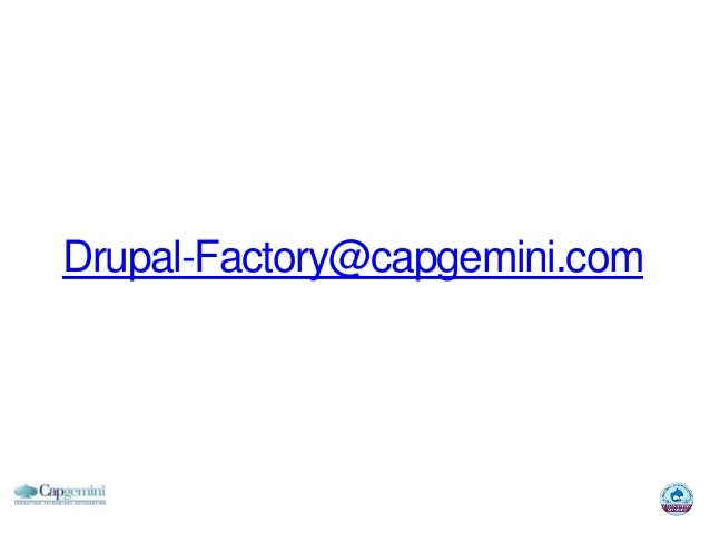 Drupal-Factory@capgemini.com