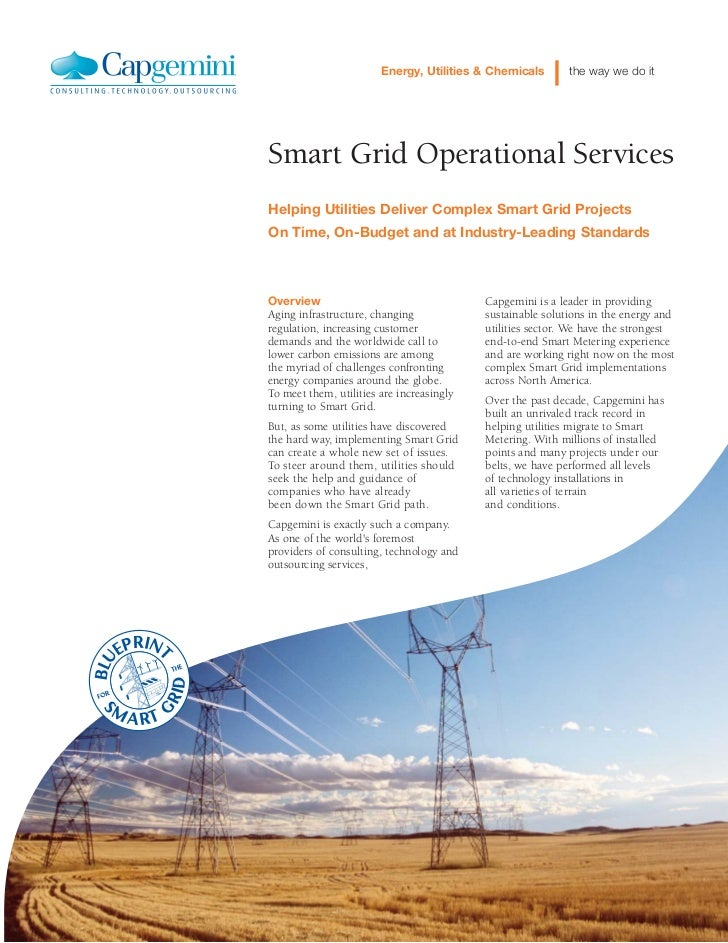 Energy, Utilities & Chemicals       the way we do itSmart Grid Operational ServicesHelping Utilities Deliver Complex Smart...