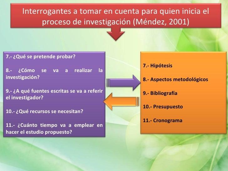 7.- ¿Qué se pretende probar? 8.- ¿Cómo se va a realizar la investigación? 9.- ¿A qué fuentes escritas se va a referir el i...