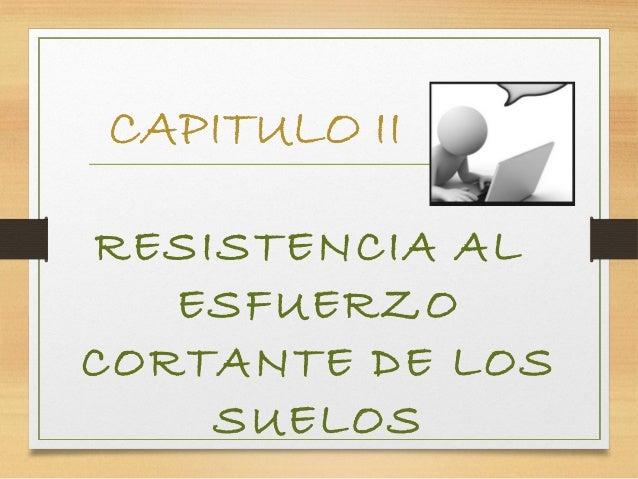 Cap ii   resistencia al esfuerzo cortante de los suelos (7) Slide 2
