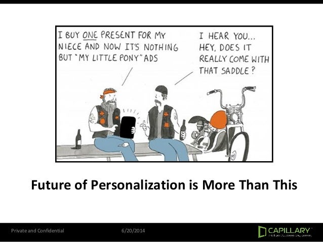 Future of Personalization is More Than This Private and Confidential 6/20/2014