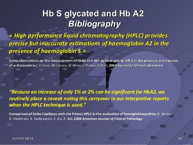 Capillary versus hplc 2016