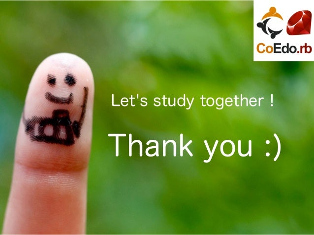 Let's study together! Thank you :)