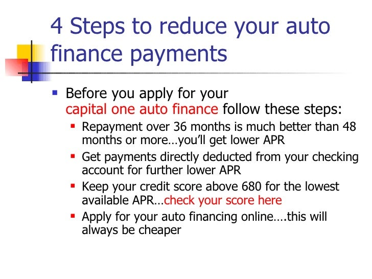 capital one auto finance lien release