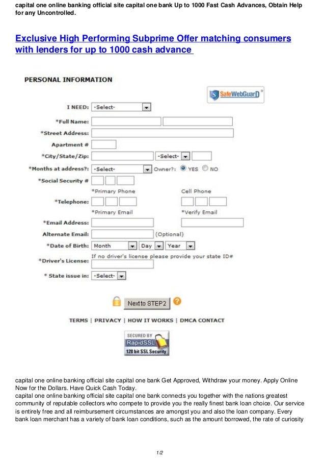 capital one banking email address манимен онлайн личный кабинет вход
