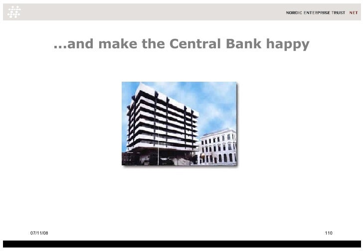 ...and make the Central Bank happy 06/06/09