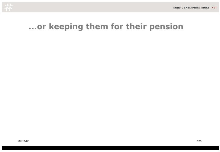...or keeping them for their pension 06/06/09