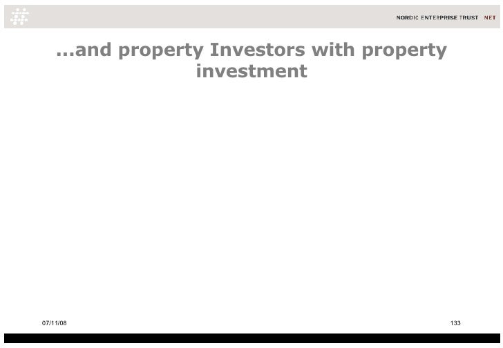 ...and property Investors with property investment 06/06/09