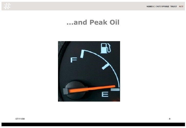 ...and Peak Oil 06/06/09