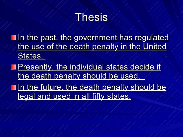 an argument against the use of capital punishment in united states of america Why capital punishment should be abolished in the united states: how the death penalty undermines american equality.